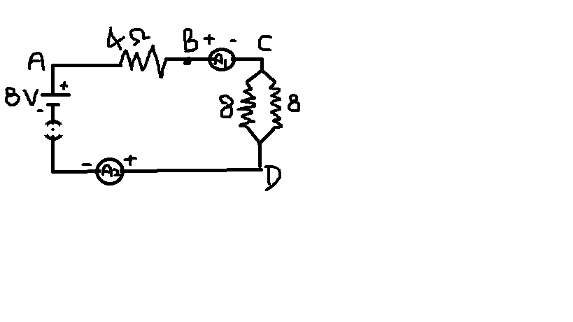 find out the following in the electric circuit given in the figure a  effective resistance of