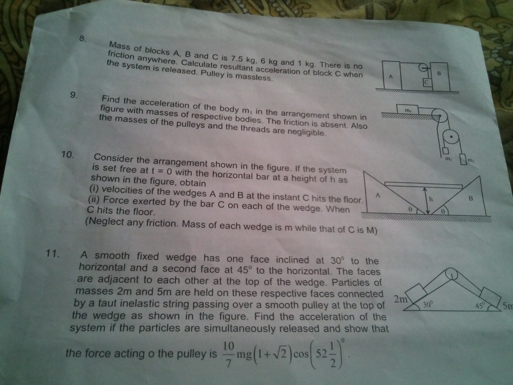 Math Physics Chemistry Questions Discussion Lists Dated 2015 07 12 Dettol Bar Soap Cool 105 Gr 5 Pcs 1227 Pls Solve These Constraint Relations