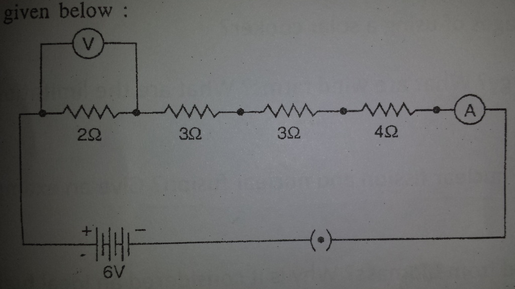 Voltmeter Impact On Measured Circuit