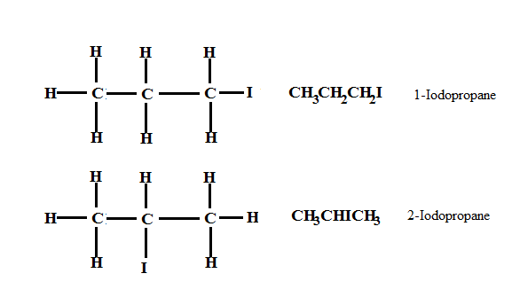 2-iodopropane expanded structural formula  How we will determine whether to add 7 or 7 before ...
