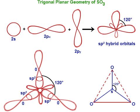 hybridisation state for so3 explain by orbital diagram. Black Bedroom Furniture Sets. Home Design Ideas