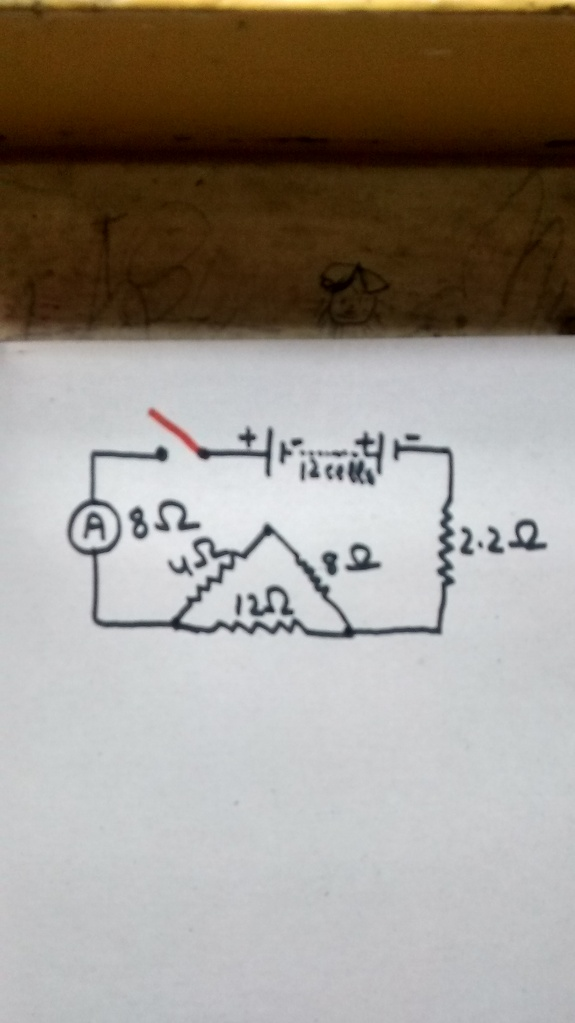 The Following Figure Shows A Circuit Diagram Containing 12 Cells