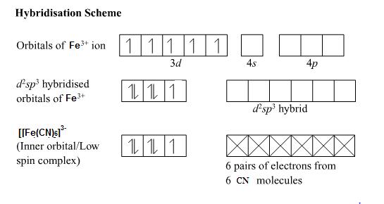 Molecular Orbital Diagram Of Fecn6 4 Electrical Drawing Wiring