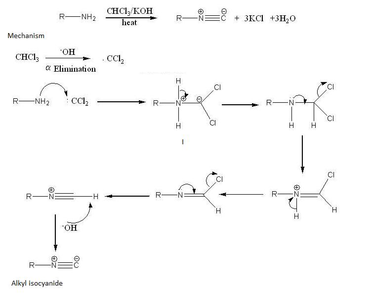 Can (ch3)2NH undergo carbylamene reaction - Chemistry - Amines