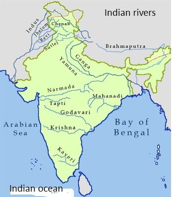 plz locate on the map map1 alluvial soil rivers 1 indus ...