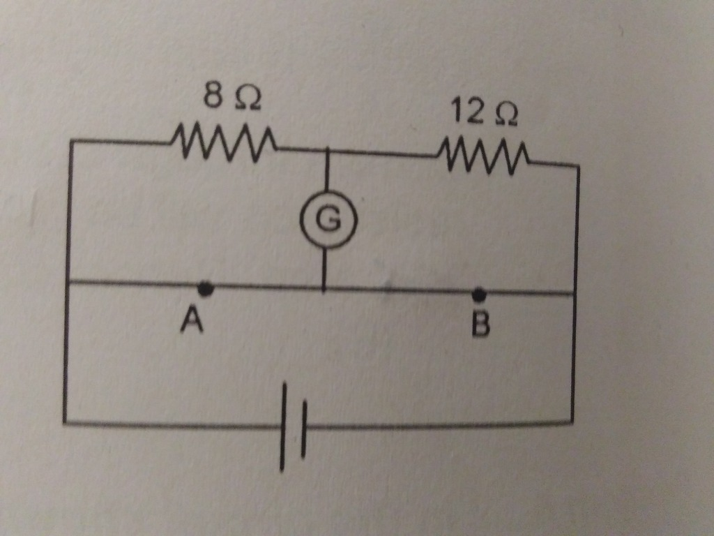 A Potentiometer Wire Ab Is 40cm Long From Point At What Lenght Wiring Diagram Null Will Be Obtained