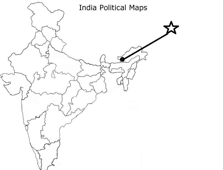 Locate Bomdila pass on indian political map - Social Science ...