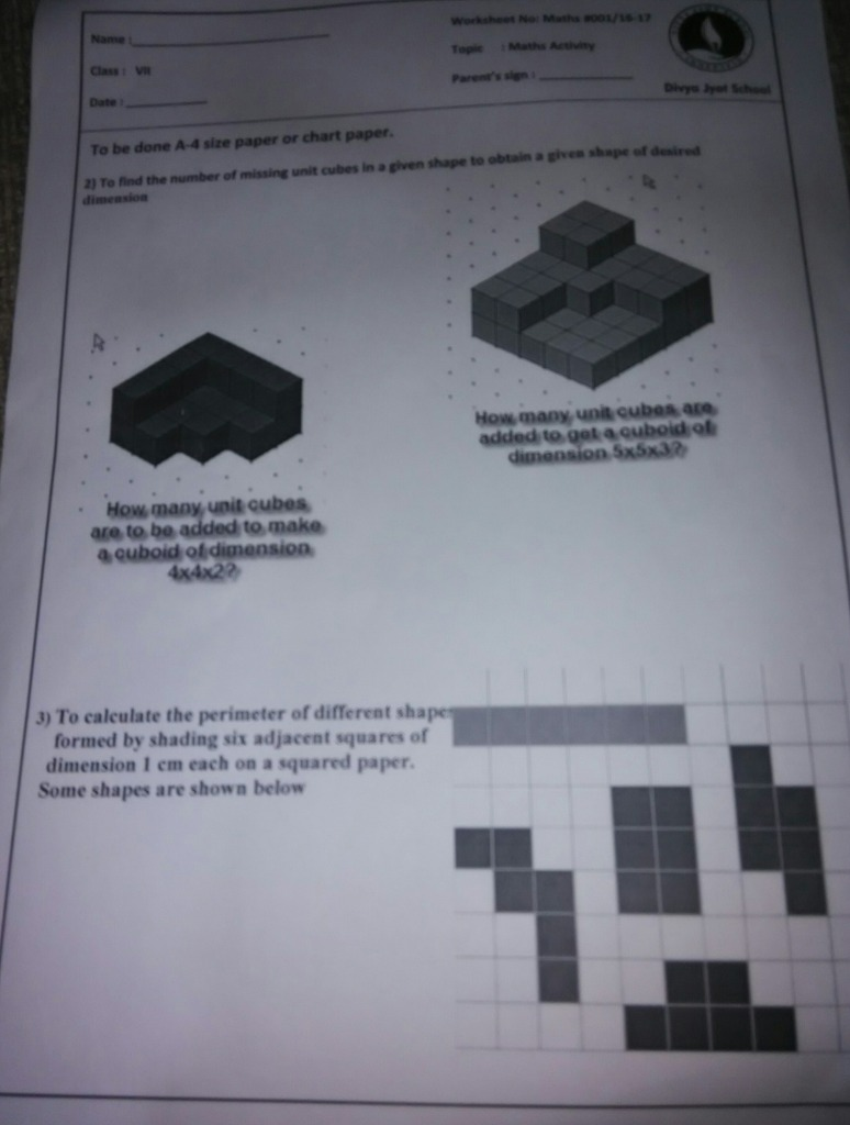 Solve the worksheet fast Math Perimeter and Area - 10753033 ...