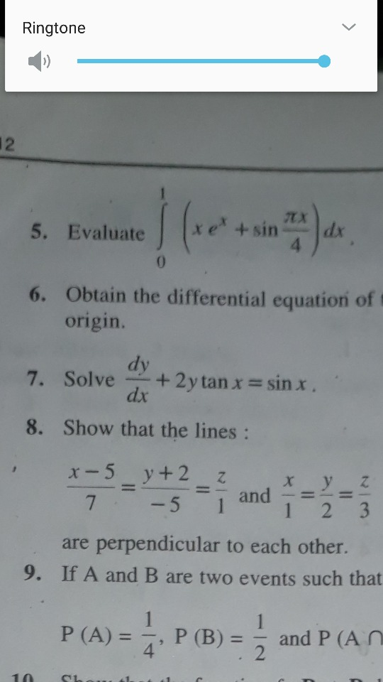 Math Physics Chemistry Questions Discussion Lists - Dated: 2017-02-04