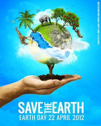 I need some posters related to Save earth and Global ...