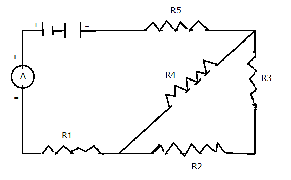 consider the following circuit diagram if r1 r2 r3 r4 r5 3 u03a9 find the equivalent resistance of