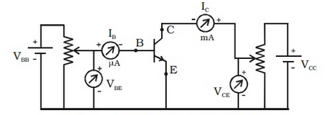 Terrific Draw The Circuit Diagram To Study The Characteristic Of Npn Wiring 101 Cominwise Assnl