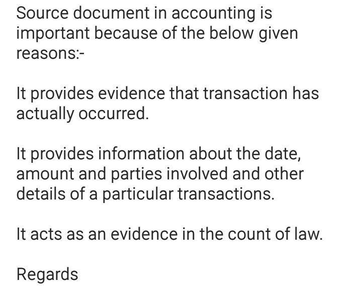 source documents accounting