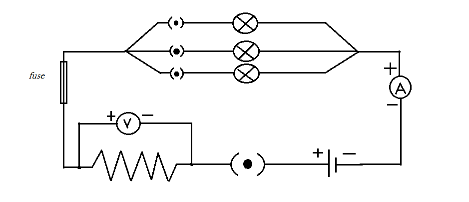 2 Draw a schematic diagram of the following circuit: One ... A Schematic Diagram Of Fuse on