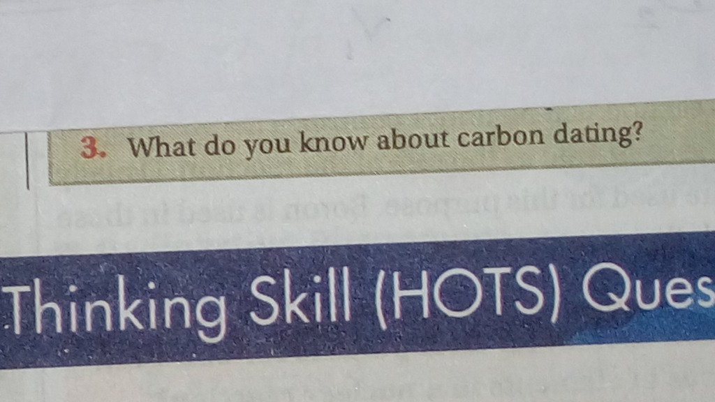 what is carbon dating in hindi While climate negotiators from almost 200 countries met in bonn to hammer out a  rule book for putting the paris agreement into practice, more.