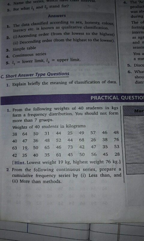 Solve this: S what II and 12 stand for Answers 1 Itie data