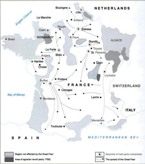 Map Of France During French Revolution.What Kind Of Question Can Come This Map Of History Of
