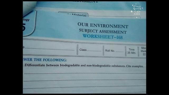 biodegradable substances examples