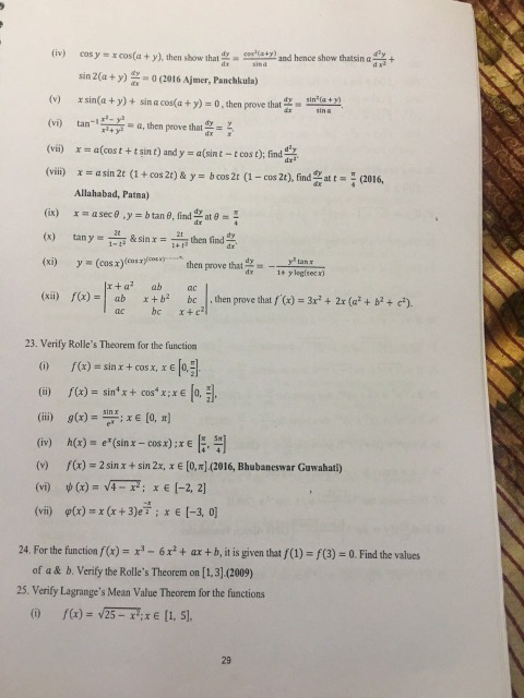Math Physics Chemistry Questions Discussion Lists - Dated: 2017-09-17