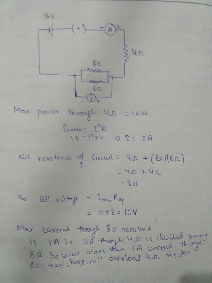 Draw A Circuit Diagram Of An Electric Circuit Containing A