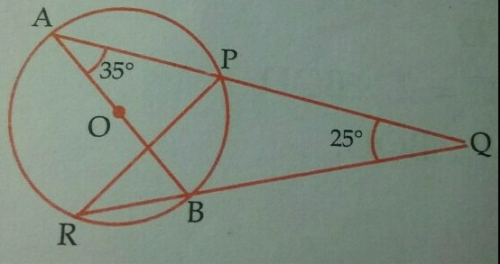 ck_5a58bd3ac3fa9 in the figure given below, ab is a diameter of the circle apbr apq