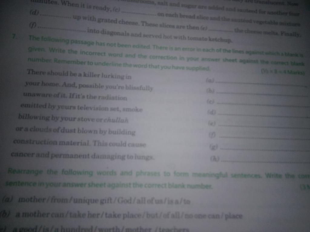Nouns, Popular Questions: CBSE Class 10 ENGLISH, English