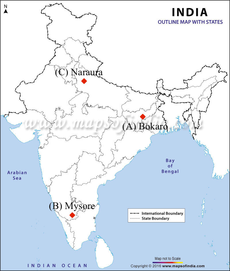 mysore in india outline map Locate And Label The Following Features On The Given Outline Map mysore in india outline map