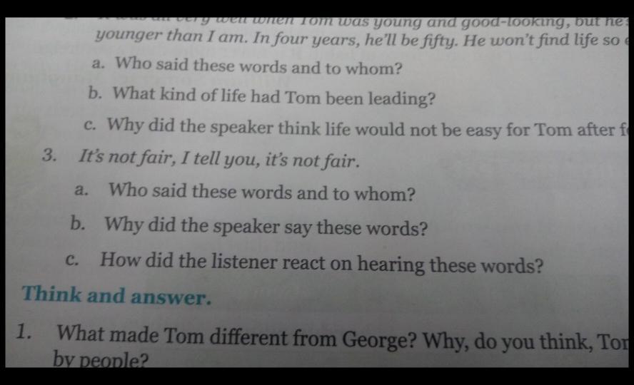 Jumbled Sentences, Popular Questions: CBSE Class 7