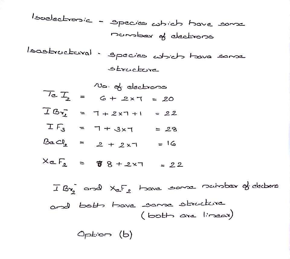 Isoelectron pairs 76