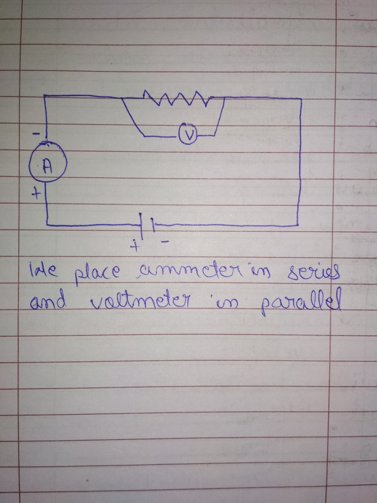 Please tell me that how to draw a circuit and where we place ...
