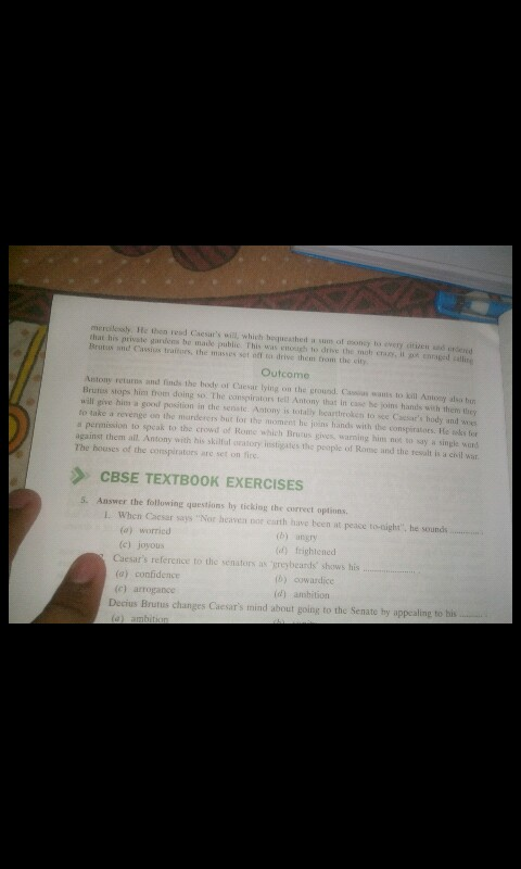 julius caesar summary for class 10 cbse pdf in hindi