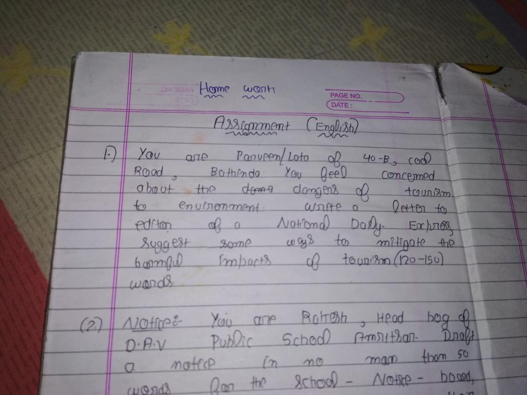 Pls tell meritnation Write a letter to