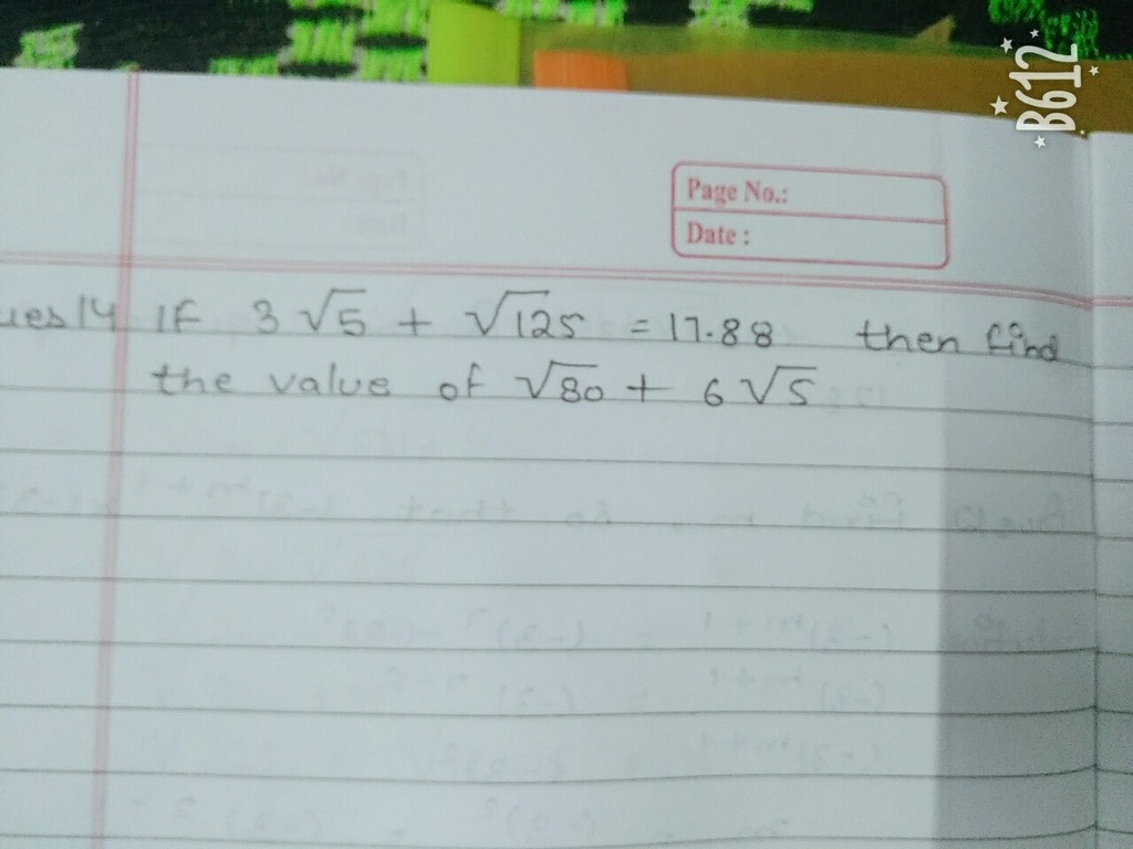 Plz help guys plzz l)ate : Math Squares and Square Roots - 12752011 ...