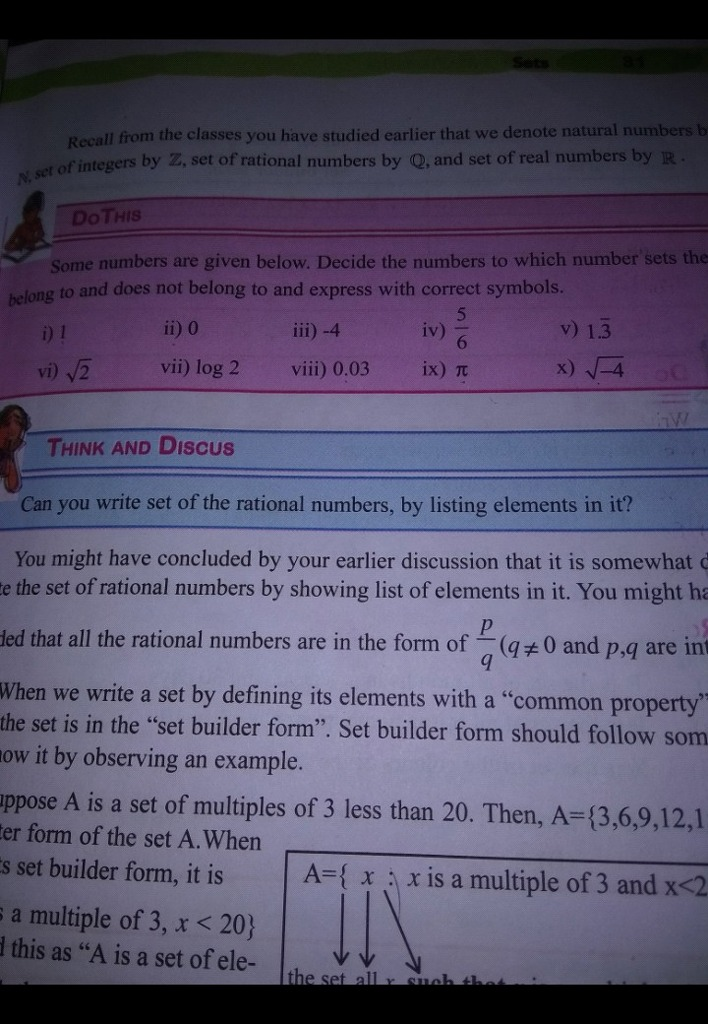 Fastly Give Me Answer Recall The Classes You Have Studied Earlier That We Denote Natural Numbe Etofintegers By Z Math Statistics 12853033 Meritnation Com