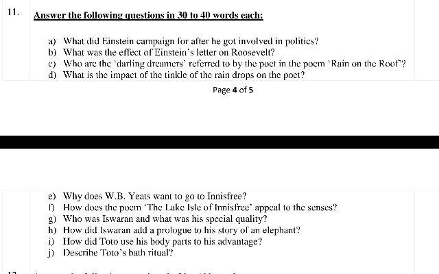 Please answer question 11 Answer the tOllowing questions in