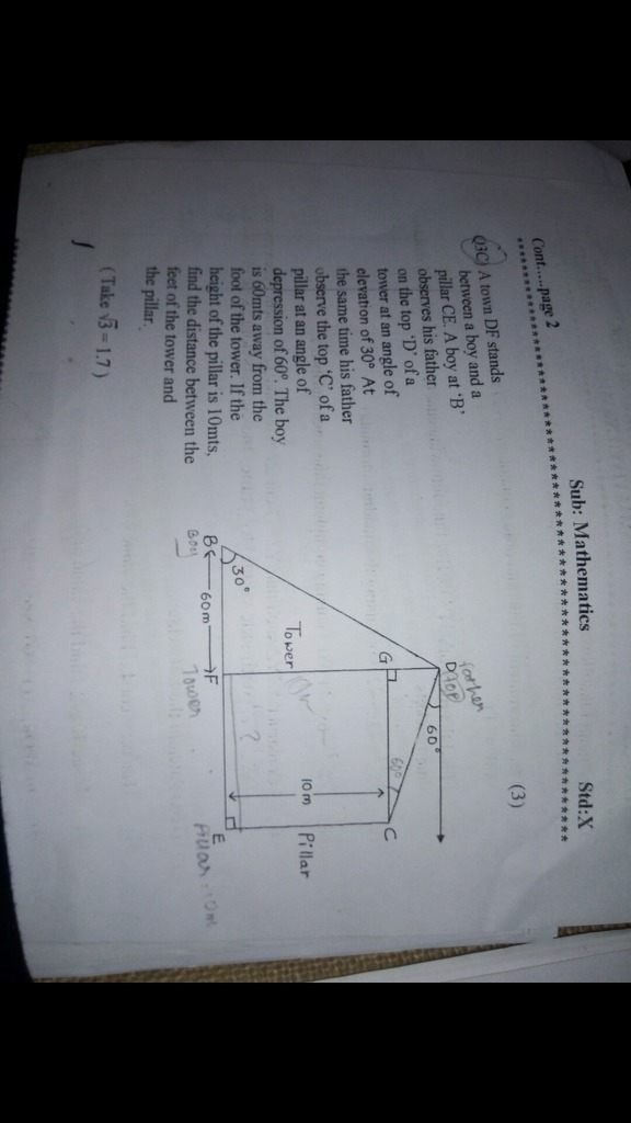 Application of trigonometry - Math - Some Applications of