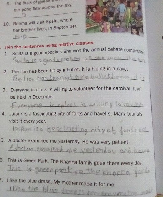 Mother Make Sentence For Class 1