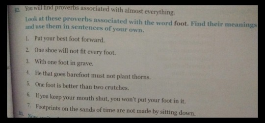 Please find meanings of these proverbs