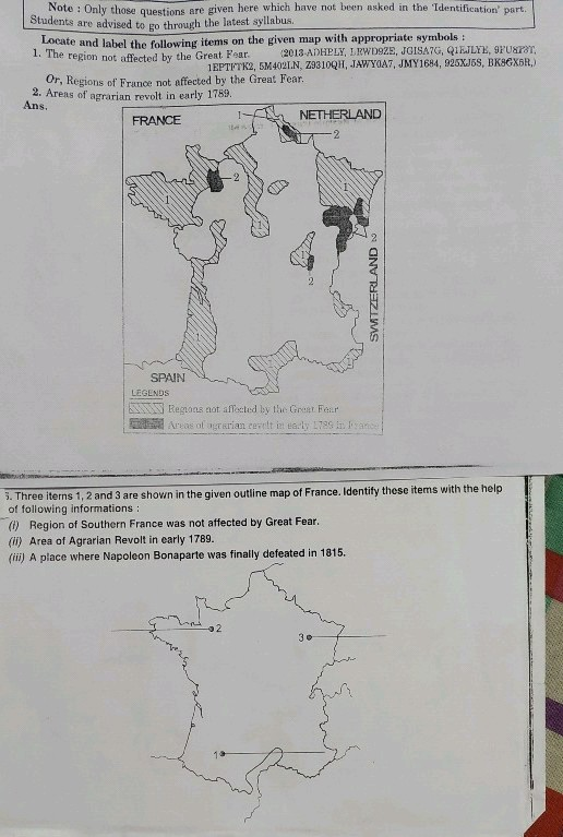 Map Of France Outline Only.Please Complete These Maps As Early As Possible No Links Plz Note