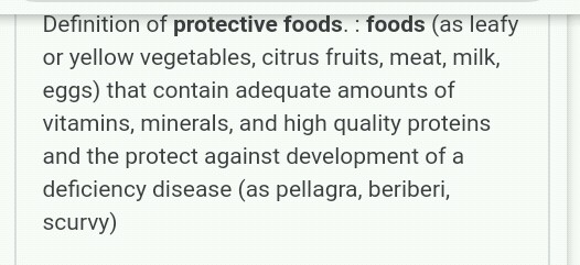 What Are Protective Foods Why Are They Called So Science Components Of Food 2186650 Meritnation Com