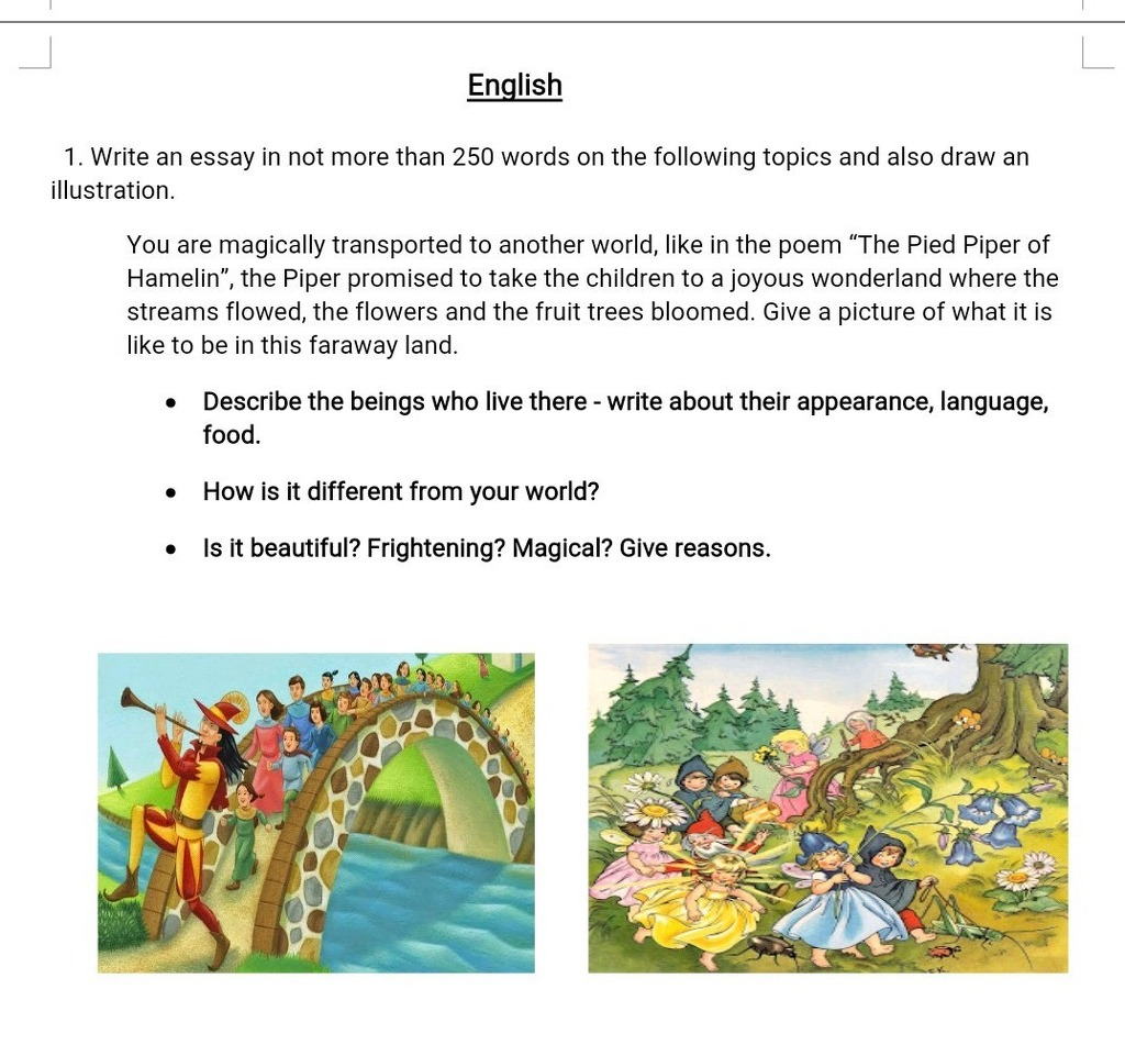 english  write an essay in not more than  words on the