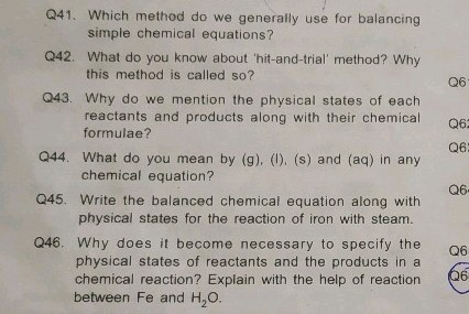 Pls answer my questions Q41 042 043 044 Which method do we