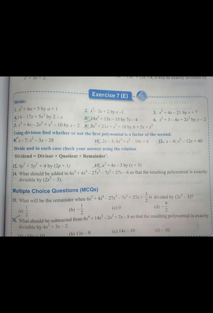 Please Solve Question 14 Divide: 5x2 By 2 —x '_14x2•
