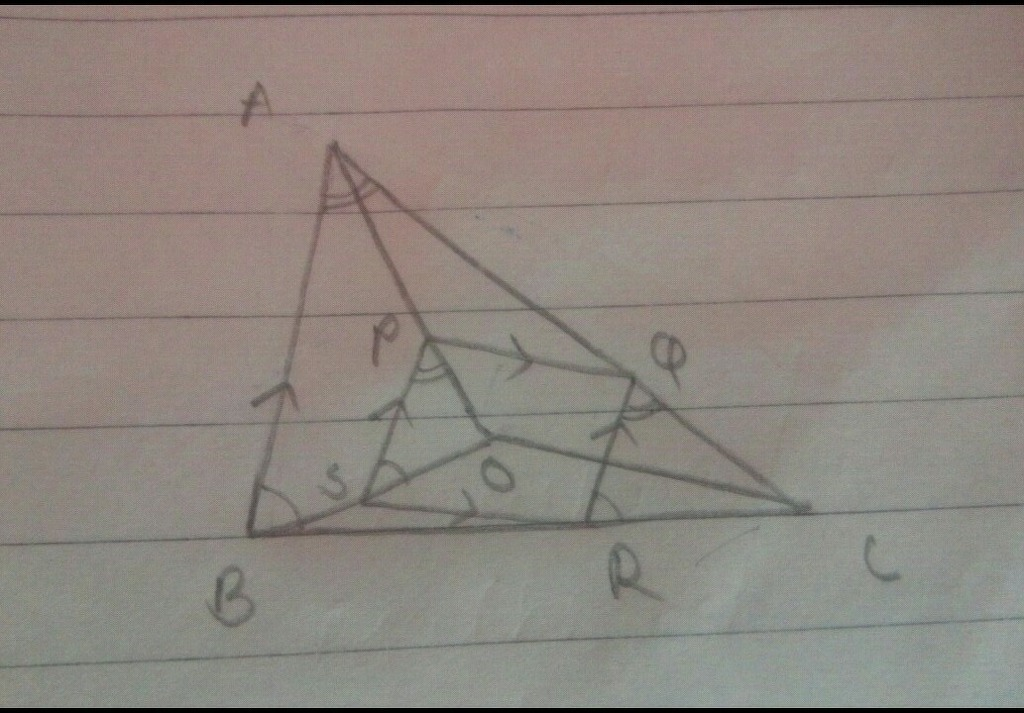 Answered: Given: Quadrilateral PQRS with PQ || RS… | bartleby