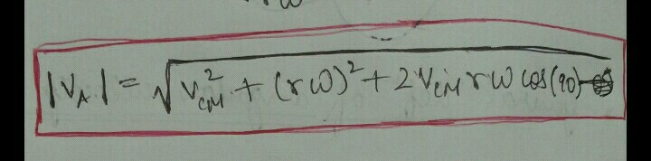 In This Formula It Will Be Cos90 Theta Or Cos Theta Pls Tell Physics System Of Particles And Rotational Motion 15953049 Meritnation Com