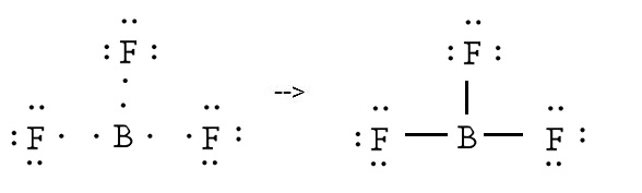 Draw The Electron Dot Structure Of Bf3 Science Carbon And