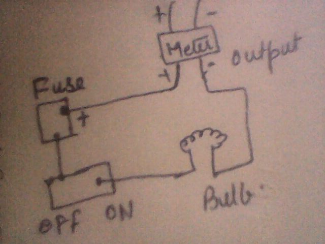 Draw a schematic labelled diagram of a domestic wiring circuit Which ...