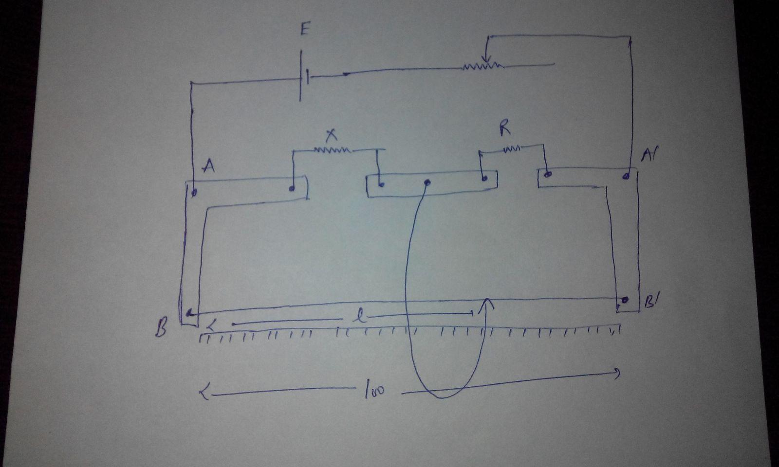 using the principle of wheatstone bridge, describe the method to ...