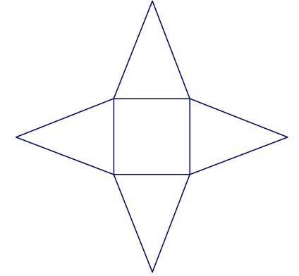 how to draw the net of rectangular,pentagonal and ...