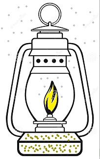 In an oil lamp draw the arrangement of particles of gas and liqui ...